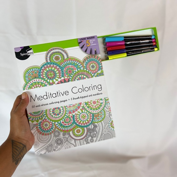 5/25⭐️ Meditative Coloring with Markers